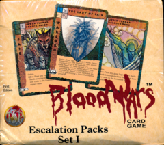 Blood Wars Escalation Packs Set 1 First Edition Booster Box