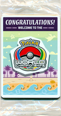 SEALED Champions Festival Promo Pack - 2017 Pokemon World Championships