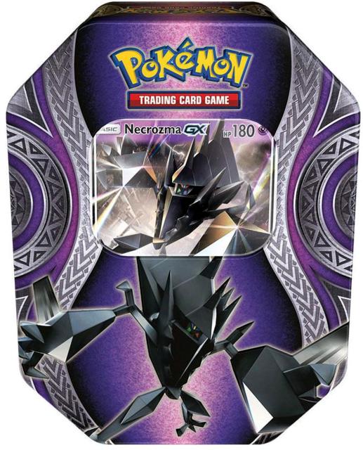 Pokemon Mysterious Powers Tin Necrozma Gx Pokemon