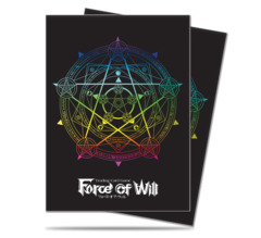 Ultra Pro Standard Size Force of Will Magic Circle Sleeves - 65ct