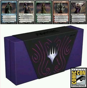 SDCC 2016 EXCLUSIVE Zombie Planeswalkers Set