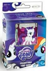 MLP Premiere Rarity & Rainbow Dash Theme Deck