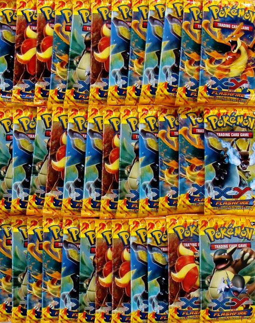 XY Flashfire 36ct Booster Pack Lot