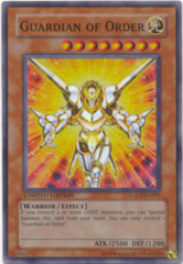 Guardian of Order - LODT-ENSP1 - Super Rare - Limited Edition
