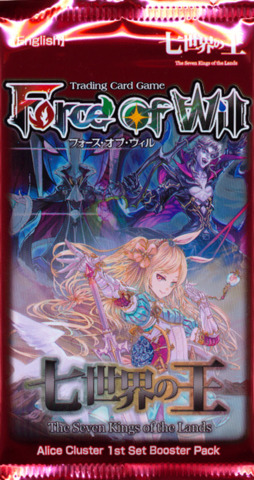 Force of Will The Seven Kings Of The Lands Booster Pack
