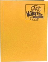 4-Pocket Monster Binder - Matte Sunflower Orange