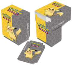 Ultra Pro Pokemon Pikachu Deck Box