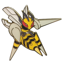 Mega Beedrill Pin - Mega Beedrill EX Premium Collection