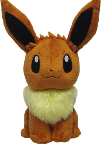 Japanese Pokemon Eevee 8 Plush PP07