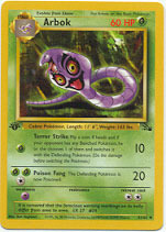 Arbok - 31/62 - Uncommon - 1st Edition