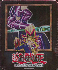 2002 Dark Magician Collectors Tin with 5 Packs and BPT-001 Card