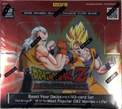 Panini Dragon Ball Z Vengeance Booster Box