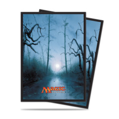 Ultra Pro Standard Size Mana 5 Swamp Sleeves - 80ct