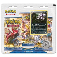 XY BREAKpoint Umbreon 3-booster blister