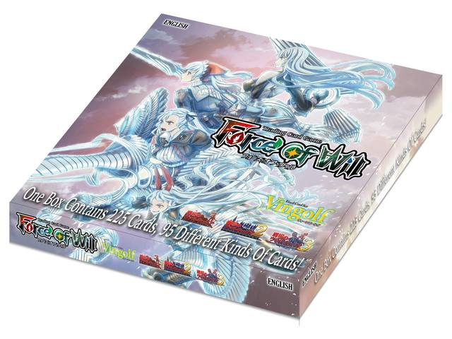 Force of Will Vingolf 2: Valkyria Chronicles Box