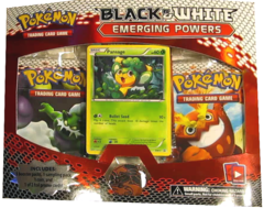 BW - Emerging Powers 3-Booster Blister Pack - Pansage Promo