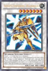 Seven Swords Warrior Ultra Rare Holo JUMP-EN047