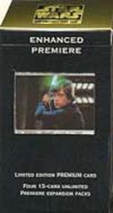 Enhanced Premiere Luke Lightsaber Package