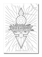 Konami Yu-Gi-Oh Small Size Clear Sleeves Silver Design 50ct