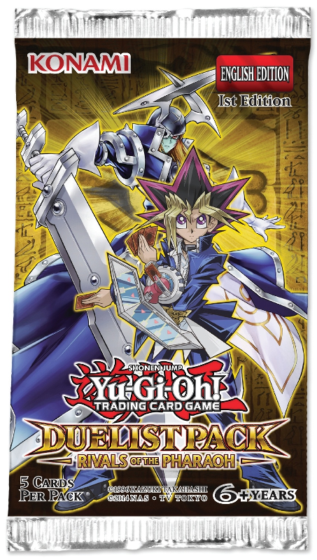 Yu-Gi-Oh Duelist Pack: Rivals of the Pharaoh Booster Pack