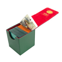 Dex Protection Creation Line Small Deckbox - Green