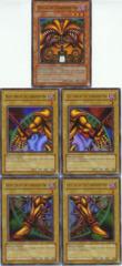 Exodia Complete 5-Card Set Original LOB Unlimited