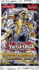 Hidden Arsenal 6 Omega XYZ Unlimited Edition Booster Pack