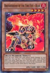 Brotherhood of the Fire Fist-Bear Super Rare CT10-EN008