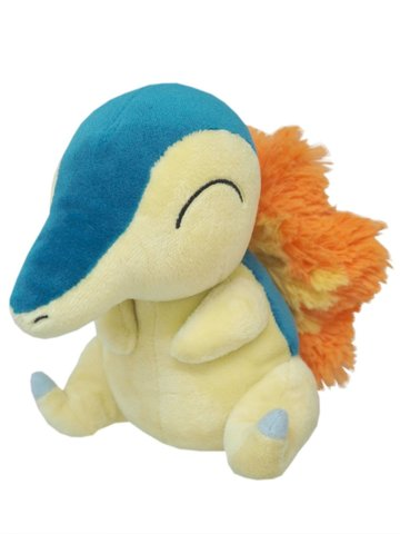 Japanese Pokemon Cyndaquil 7 Plush PP41