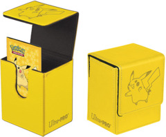 Ultra Pro Pokemon Pikachu Flip Deck Box