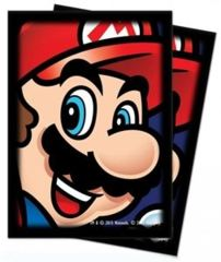 Ultra Pro Standard Size Super Mario: Mario Sleeves - 65ct