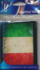 Max Protection Standard Size Sleeves Italy Flag - 50ct