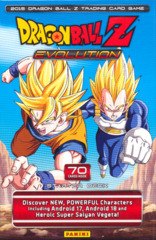 Panini DragonBall Z Evolution Starter Deck