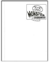 4-Pocket Monster Binder - Matte White
