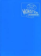 9-Pocket Monster Binder - Matte Arctic Blue