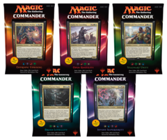 2016 MTG Commander Decks Set of 5