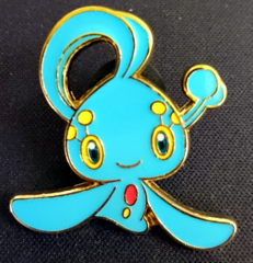 Manaphy Pin - Mythical Manaphy Collection Exclusive