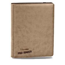 Ultra Pro 9-Pocket Premium PRO-Binder Tan