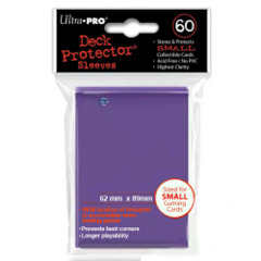 Deck Protector Ultra Pro 60ct Yugioh Sized Sleeves - Purple