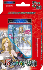 Valentina, the Princess of Love - Water Starter Deck