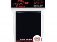 Deck Protector Ultra Pro 60ct Yugioh Sized Sleeves - Black