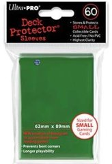 Deck Protector Ultra Pro 60ct Yugioh Sized Sleeves - Green