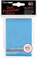 Deck Protector Ultra Pro 60ct Yugioh Sized Sleeves - Light Blue