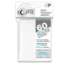 Ultra Pro Sleeves - 60 count - Small Sized - Pro-Matte Eclipse White