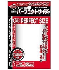 KMC Perfect Fit Sleeves - Full Size (89 x 64mm) - (100 ct)