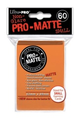 PRO-MATTE Ultra Pro Yu-Gi-Oh Sleeves - Orange (60ct)