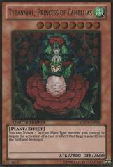 Tytannial, Princess of Camellias - GLD4-EN026 - Gold Rare - Limited Edition