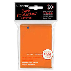 Deck Protector Ultra Pro 60ct Yugioh Sized Sleeves - Orange