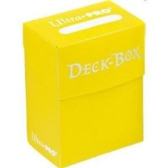 Ultra Pro Standard Deck Box in Yellow