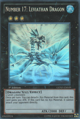 Number 17: Leviathan Dragon - GENF-EN039 - Ghost Rare - 1st Edition